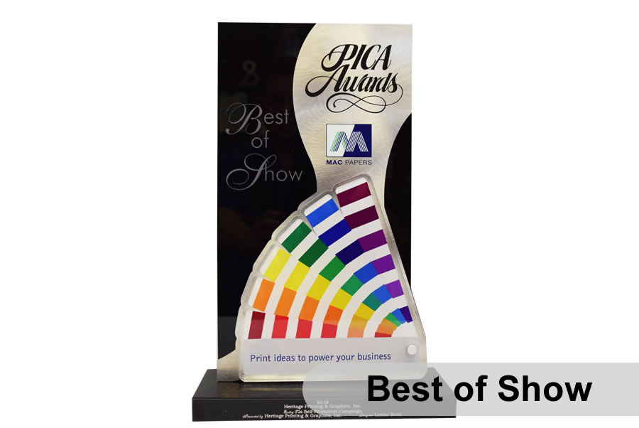 2016 PICA Best of Show Award Winner
