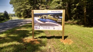 Water Front Sign