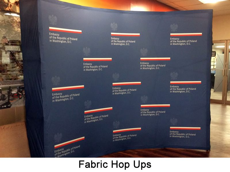 Fabric Backdrops DC