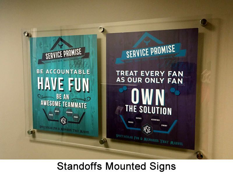 Standoff Mounted 