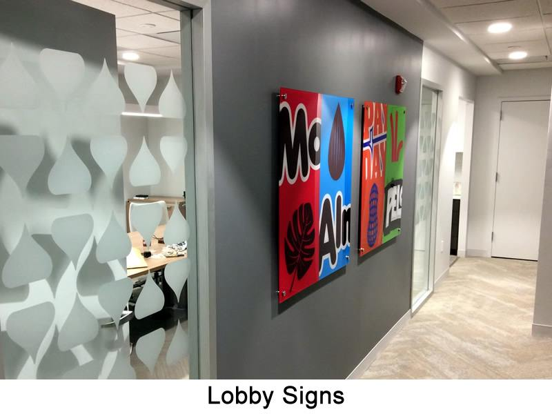 Lobby Signs DC