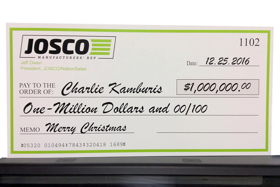 Big Check Printers DC