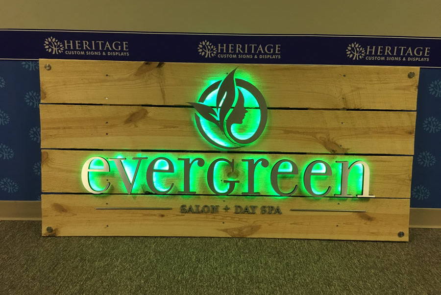 Custom Laser Cut Signs DC