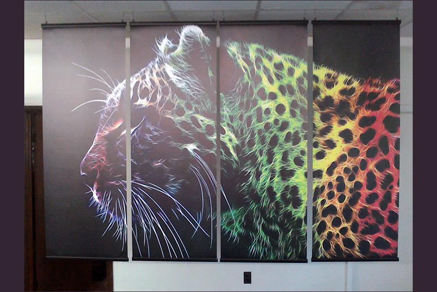 Custom Printed Curtains DC