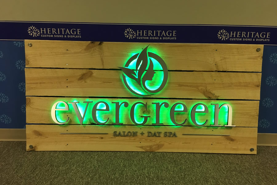 Custom Backlit LED Signs: Washington DC, VA & MD | Heritage