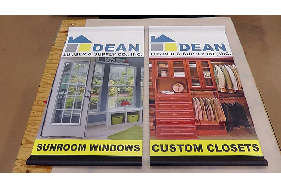 Outdoor Mesh Banners DC