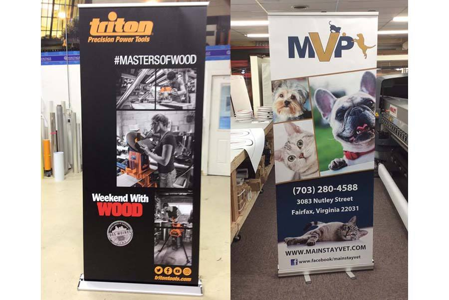 Retractable Banners DC