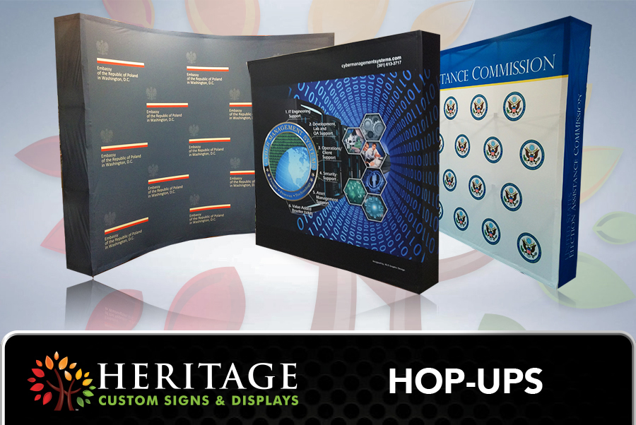 Hop Up Displays DC