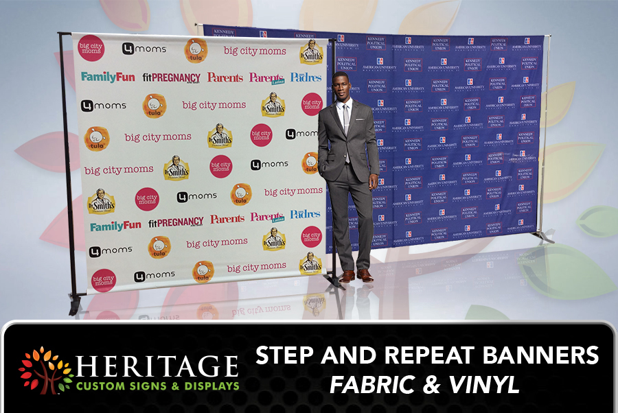 Vinyl Step and Repeat DC