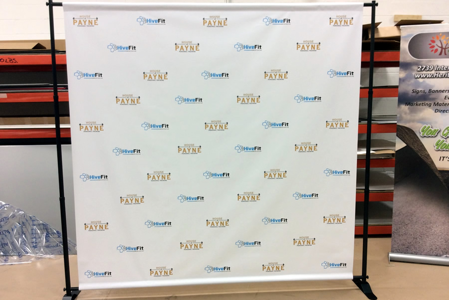 step and repeat event banners dc repeat banners. Black Bedroom Furniture Sets. Home Design Ideas