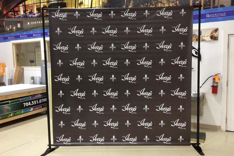 Trade Banner Stands : Step and repeat event banners dc