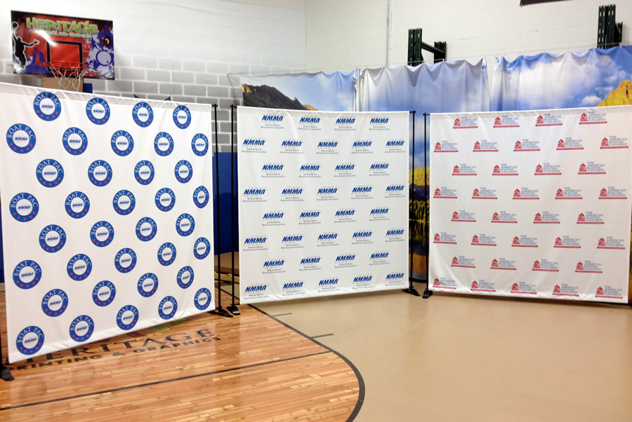 Step and Repeat Event Banners DC