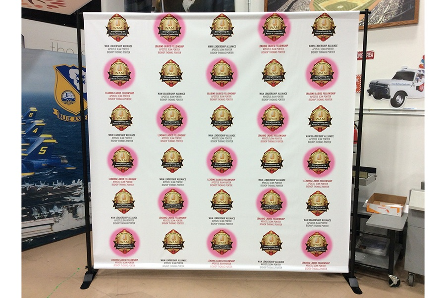 Step and Repeat Backdrops DC