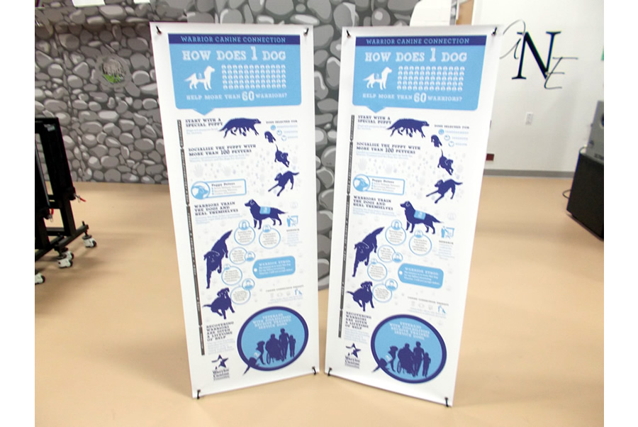 X Banner Stands DC