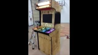 Computer Arcade Game Cabinet